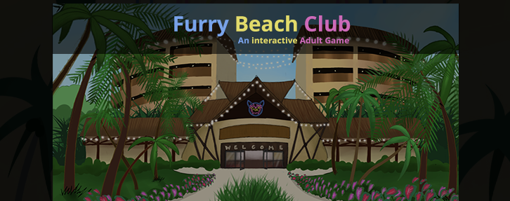 Furry Beach Club: A Dazzling Furry Sex Porn Game